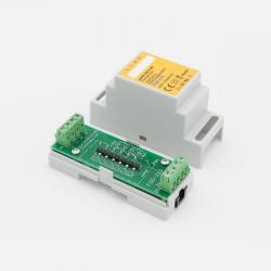 EUTONOMY - Adaptador de euFIX DIN para Fibaro FGS-213 sin botones