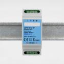 EUTONOMY - Adattatore euFIX su guida DIN modulo Fibaro FGD-212 senza pulsanti