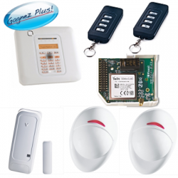 Visonic PowerMaster10 - Pack alarmanlage haus GSM Powermaster10