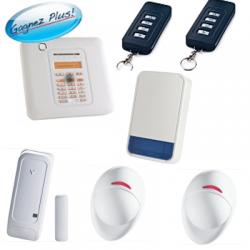 Visonic - Pack de alarma de la casa PowerMaster10 con sirena al aire libre