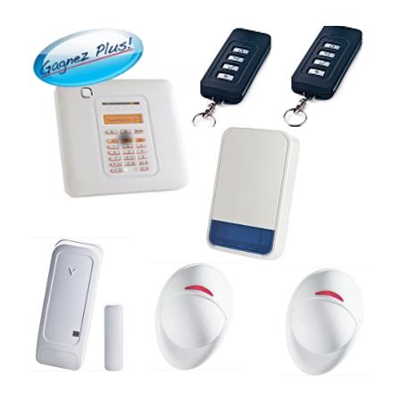 Visonic - Pack alarm home PowerMaster10 with outdoor siren