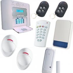 PowerMaster30 - Pack alarm home F1 / F2 with outdoor siren PowerMaster Visonic