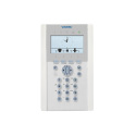 Keyboard comfort LCD for range alarm SPC Vanderbilt with badge reader EM and voice synthesis integrated