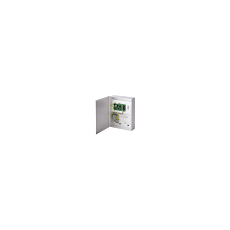 Vanderbilt SPCP332.300 - Box Charger (battery 7Ah) 12V/1.5 A with card, 8 inputs / 2 outputs