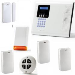 Alarm haus drahtlos - Pack Iconnect IP / GSM-F3 / F4 mit sirene