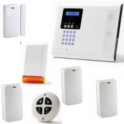 La alarma de la casa wireless - Pack Iconnect IP / GSM sirena estroboscópica
