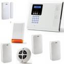 Alarm haus drahtlos - Pack Iconnect IP / GSM-blitz sirene