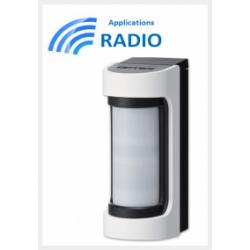 Einbeinstativ VXS-RDAM - Einbeinstativ VXS-RDAM detektor-radio IR / Hyperfréqunce außen-weitwinkel-sabotage
