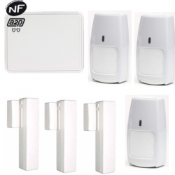 Pack Central de Alarma Total Connect - Pack Central de Alarma Total Connect, GSM e IP NFA2P tipo F3/F6