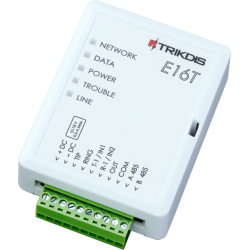 Trikdis E16T - Transmitter alarm IP with smartphone app
