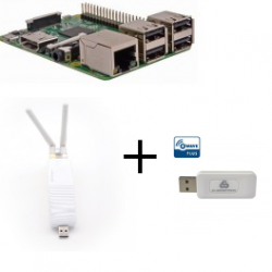 Raspberry Pi3 RfPlayer dongle Z-Wave More SA413