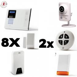 Alarma conectada a casa Iconnect IP / GSM