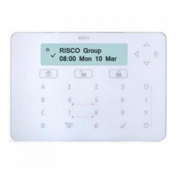 Risco RPKELW - Clavier alarme Elegant Keypad blanc