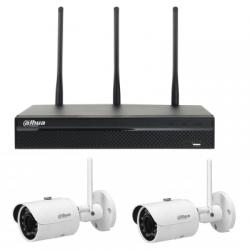 Dahua pack vidéosurveillance WIFI 2 caméras 4MP
