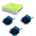 Eedomus Plus avec Qubino ZMNHCD1 - Pack automatisme volets roulants