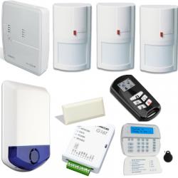 Alarma DSC ALEXOR - vivienda tipo F3 con GSM