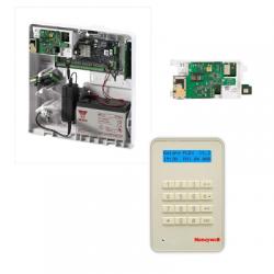 Central alarm Galaxy Flex 20 - Central alarm Honeywell 20 zones with keypad MK8