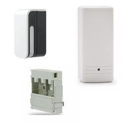 Accesorios optex BXS-R-Shield - Detector de alarma inalámbrico de la cortina de fuera