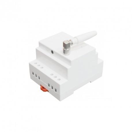 SIMPAL - Module sur rail DIN pilotable par GSM SimPal D210