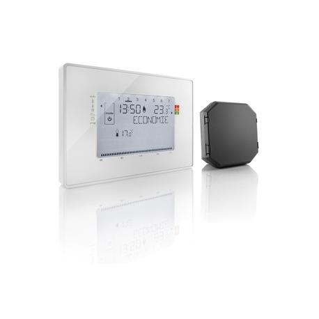 thermostat somfy 2401244 thermostat sans fil pilote. Black Bedroom Furniture Sets. Home Design Ideas