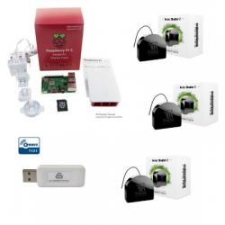 Jeedom pack avvolgibili - Pack Raspberry Pi 3 Z-Wave Più moduli FGR-222