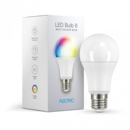 AEOTEC ZWA002 - Ampoule LED RGB Z-Wave PLus