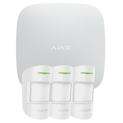 Alarma Ajax HUBKIT-PRO-W - Pack de alarma IP / GPRS