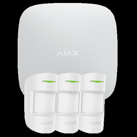 Alarme Ajax HUBKIT-PRO-W - Pack alarme IP / GPRS