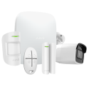 Ajax Alarme maison - Pack alarme IP / GPRS avec caméra Wifi 4 MP
