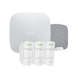 Alarm Ajax HUBKIT-PRO-S - Pack alarm IP / GPRS with indoor siren
