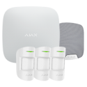 Alarma Ajax HUBKIT-PRO-S - Pack de alarma IP / GPRS con sirena de interior