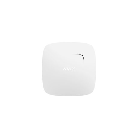 Alarm Ajax FIREPROTECT-W - Sensor rauch blancir