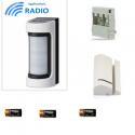 Risco VXS-RDAM - radio Detector IR / Hyperfréqunce outdoor wide angle antimasque