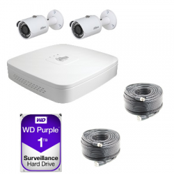 Kit cctv-Dahua AHD 720P 2 kameras
