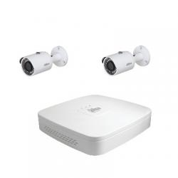 Dahua-Kit videoüberwachung 2 kameras mit 4 Megapixel