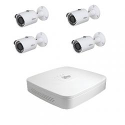 Dahua Kit video sorveglianza - 4 telecamere HD-CVI 4 Megapixel