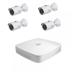 Dahua Kit video surveillance - 4 cameras HD-CVI 4 Megapixel