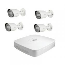 Dahua Kit video sorveglianza, si possono collegare 4 telecamere HD-CVI 2 Megapixel