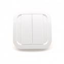 EnOcean wall Switch - Cozi White NODON