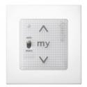 Somfy 1811405 - SMOOVE UNO io-compatible - Blanc + CADRE