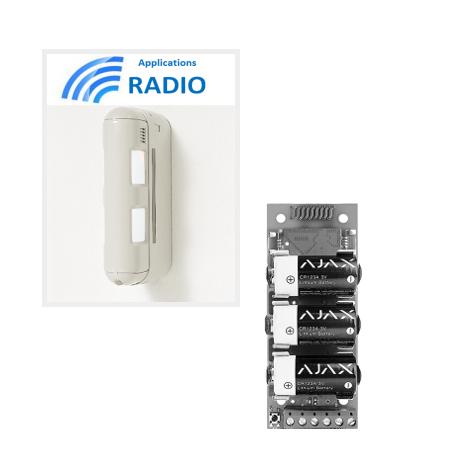 Accessories optex BX80N - dual Sensor IR exétrieure 12X12M anti-animals