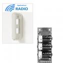 Ajax Optex BX-80NR - Détecteur alarme double IR extérieur radio 12X12M anti-animaux