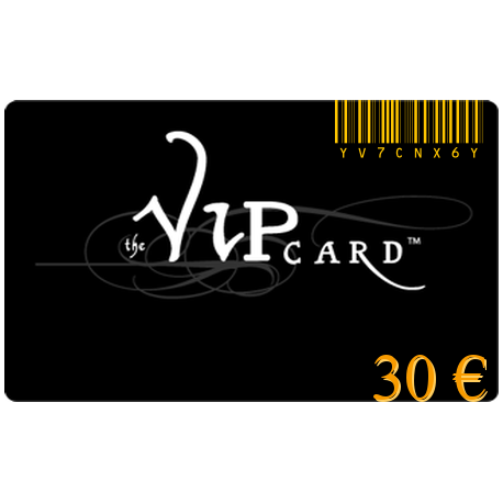 Gift card VIP for a value of€30