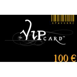 Tarjeta de regalo VIP por un valor de€100