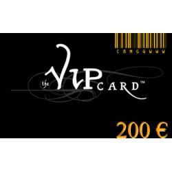Karte VIP-geschenk im wert von 200€
