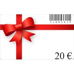 Karte geschenk geburtstag im wert von 20€
