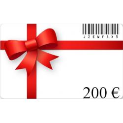 Karte geschenk geburtstag im wert von 200€