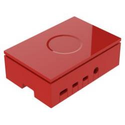 Boitier Raspberry Pi 4 Multicomp Pro rouge