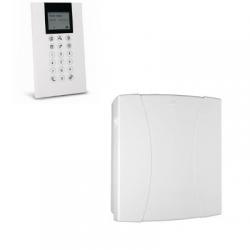 Risco LightSYS - Central alarm wired connected with keypad badge reader