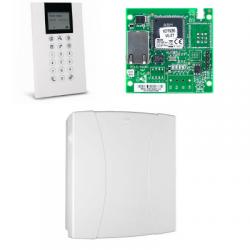 Risco LightSYS - Central de alarma con cable conectado con teclado lector de placas de identificación